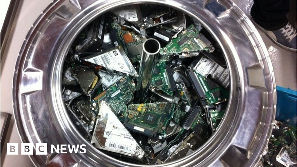 The treasure is hidden in discarded computers