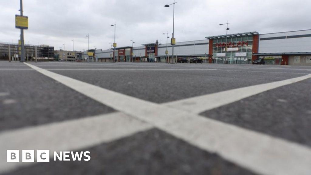 Coronavirus Lockdown Scotland S Empty Streets Bbc News