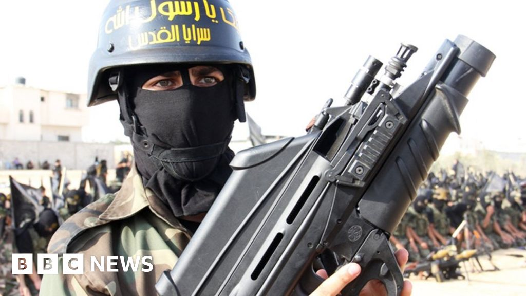 A rifle's journey from Belgium to Gaza - BBC News