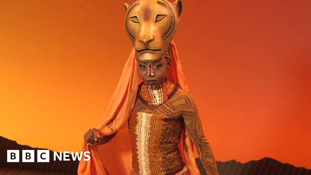 As a swing in The lion king