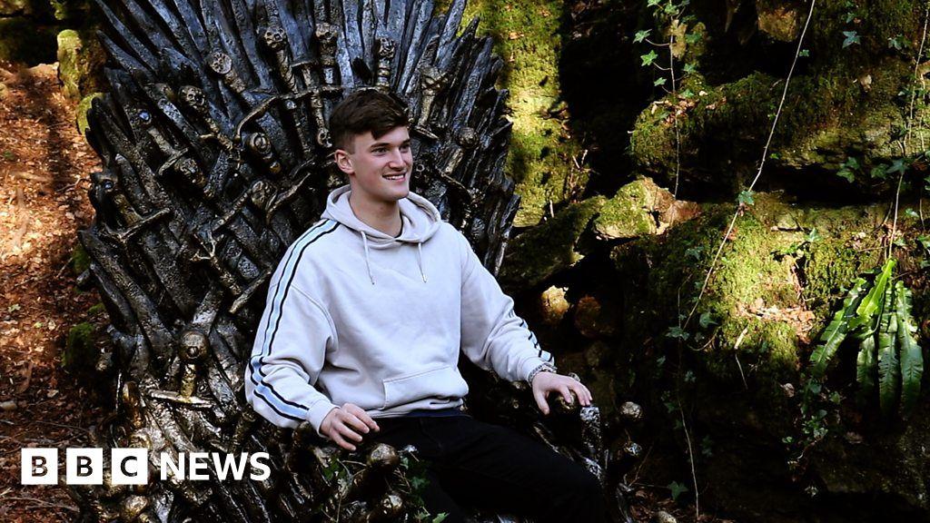 Game Of Thrones Hidden Iron Throne Found In Woodland Bbc News