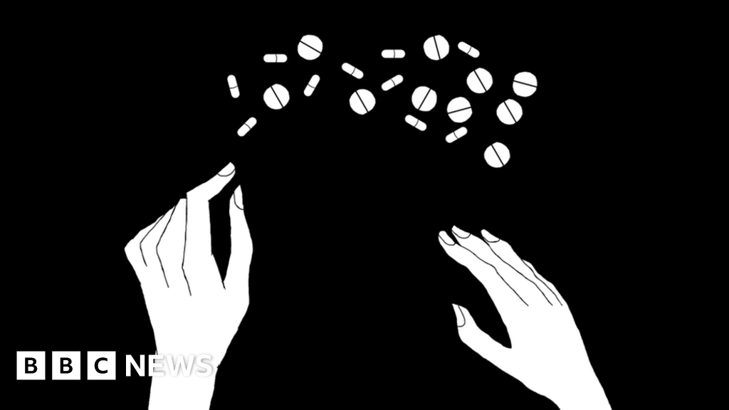I took 57 painkillers a day to get high' - BBC News