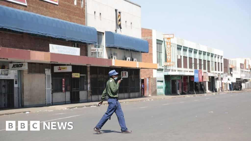 Zimbabwe police clear streets ahead of anti-government protests