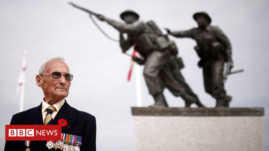 British Normandy Memorial unveiled in France to honour veterans – BBC News