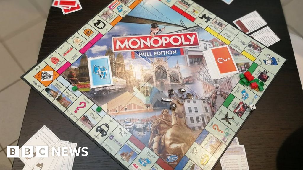 Hull City of Culture Monopoly board game released - BBC News