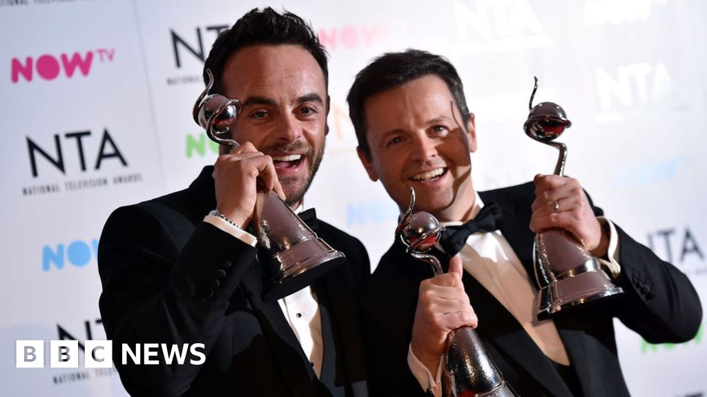 NTAs 2018: Ant and Dec win big with three awards