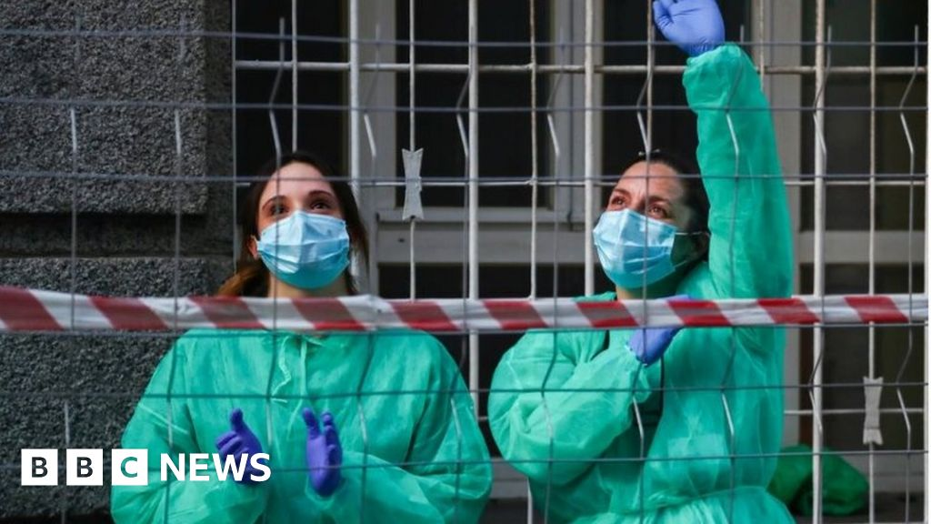Coronavirus: Spanish deaths to fall for the fourth day in a row