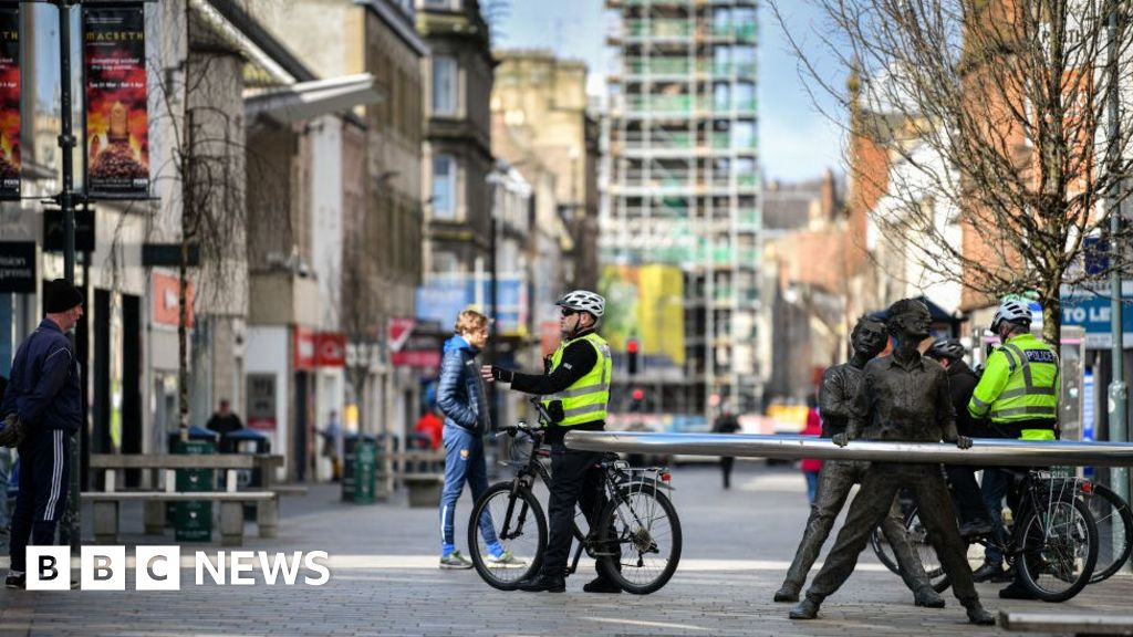 Coronavirus: recorded crime in Scotland is down by a quarter since lockdown