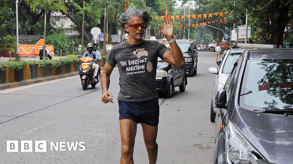 Milind Soman: Actor and model charged over nude photo