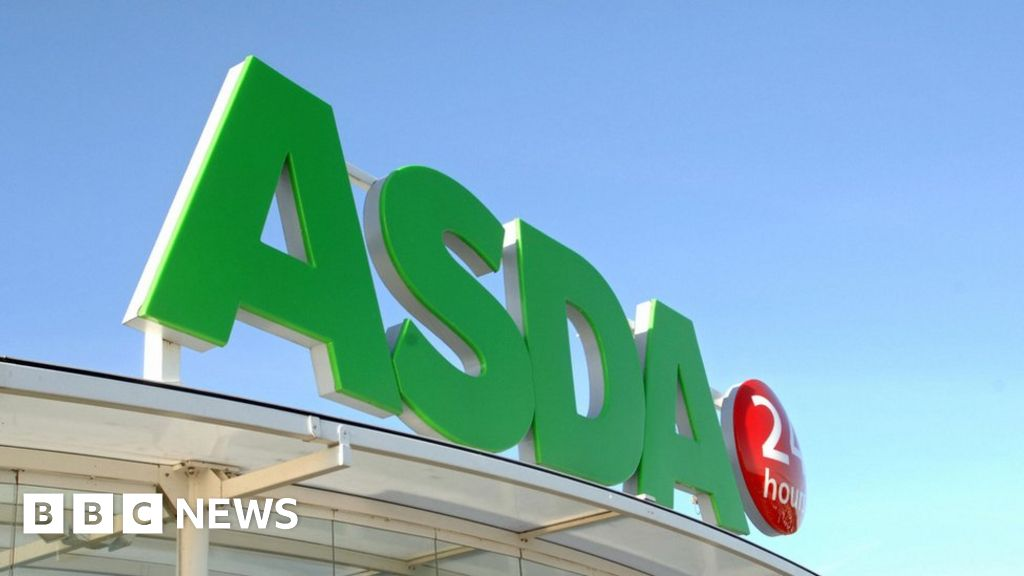 Dirty crates and vans used to deliver food by Asda