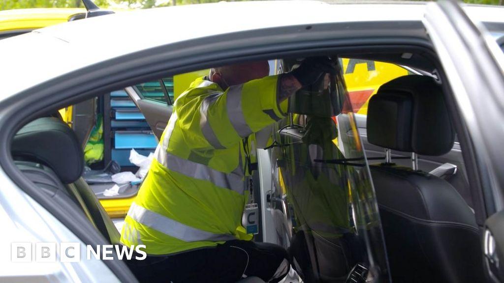 Coronavirus: Uber and Addison Lee to install protective screens