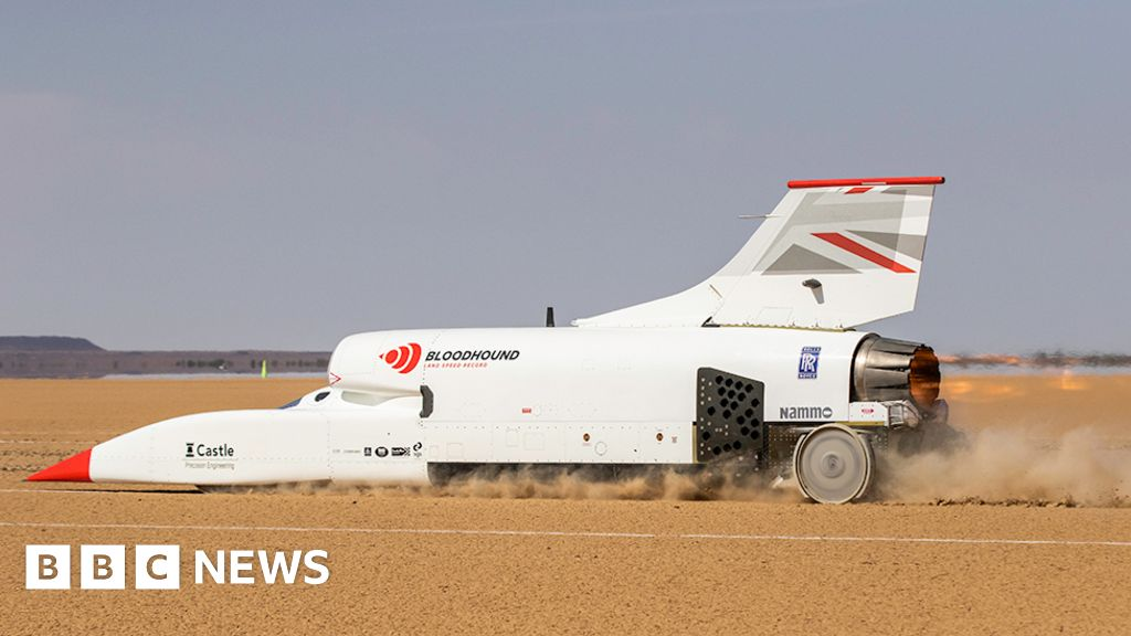 Bloodhound goes faster still at 491mph