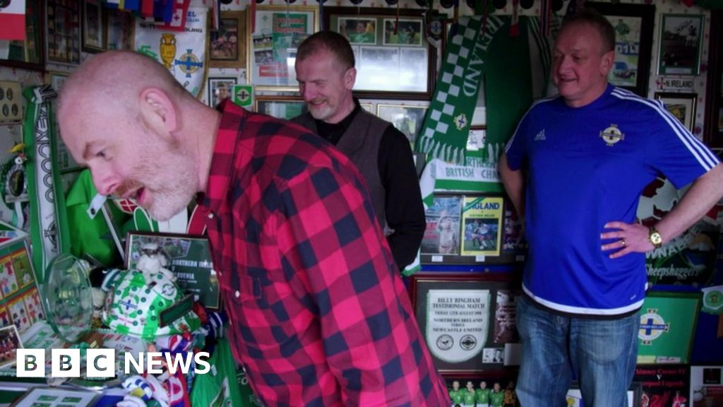 Northern Ireland 'superfan' sentenced over fake tops
