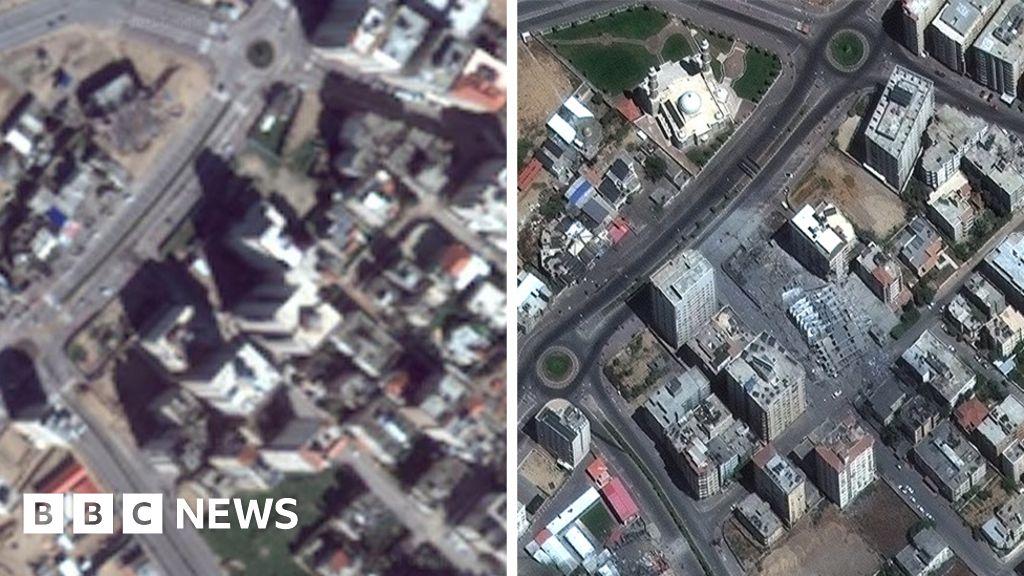 Israel-Gaza: Why is the region blurry on Google Maps?