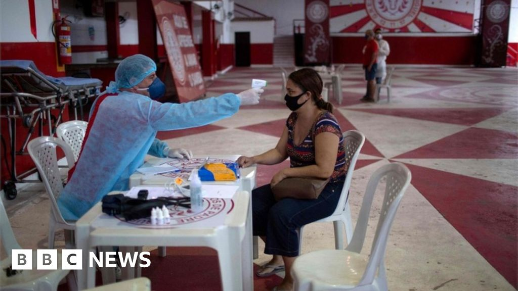 Coronavirus: US suspends travel from Brazil for foreigners - BBC News