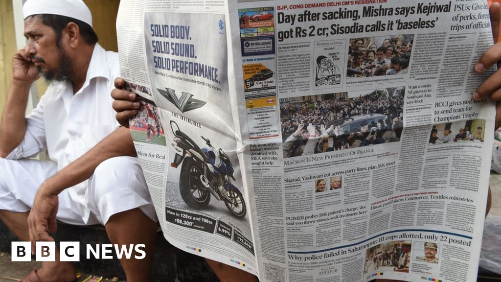 The story barely reported by Indian media - BBC News