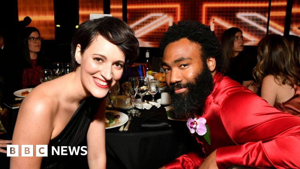 Mr and Mrs Smith reboot to star Phoebe Waller-Bridge and Donald Glover -  BBC News
