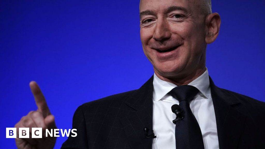 Amazon boss Jeff Bezos adds $24bn to fortune