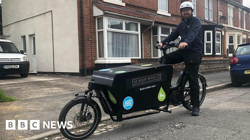 The plumber giving 'white van man' an eco-makeover
