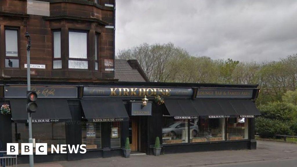 Coronavirus Glasgow S Kirkhouse Bar Closed Over Covid Customer Bbc News