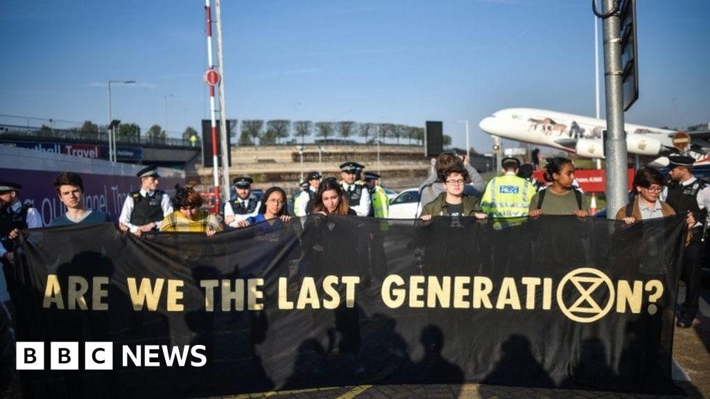 Extinction Rebellion Plans Heathrow Drone Protest