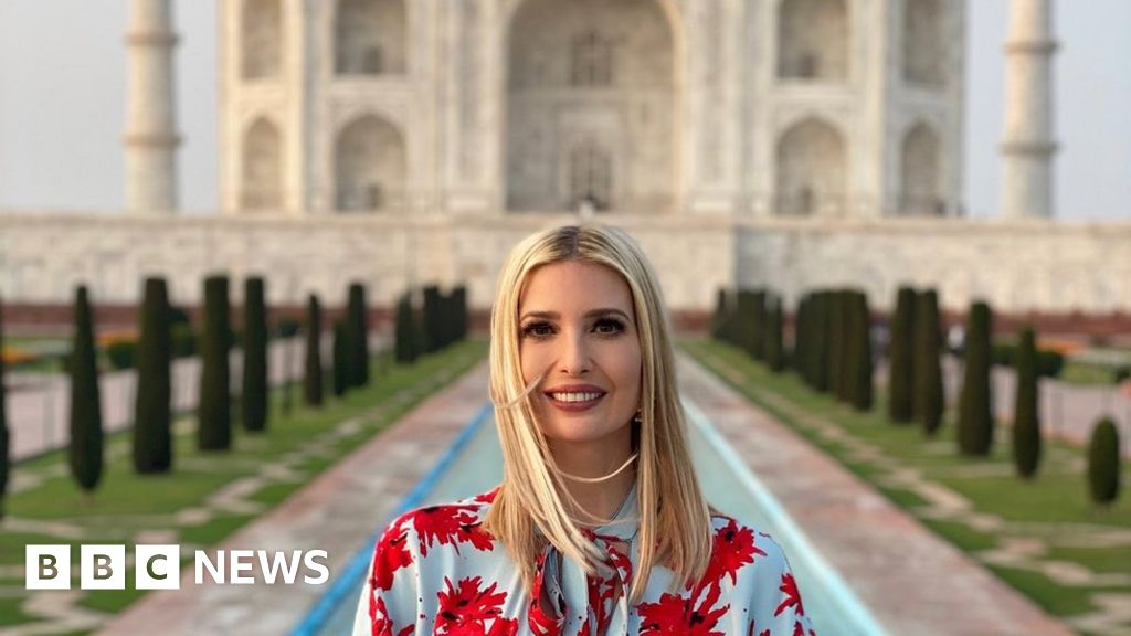 Ivanka Trump Responds To Taj Meme By Indian Singer Bbc News