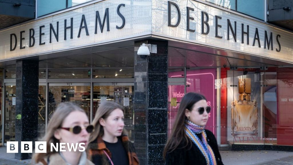 Debenhams website overwhelmed as shoppers swoop on sales