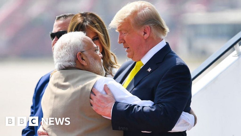 Donald Trump in India: US President begins first official trip