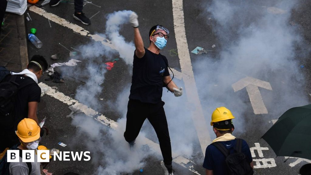 Young, radical and ready for tear gas