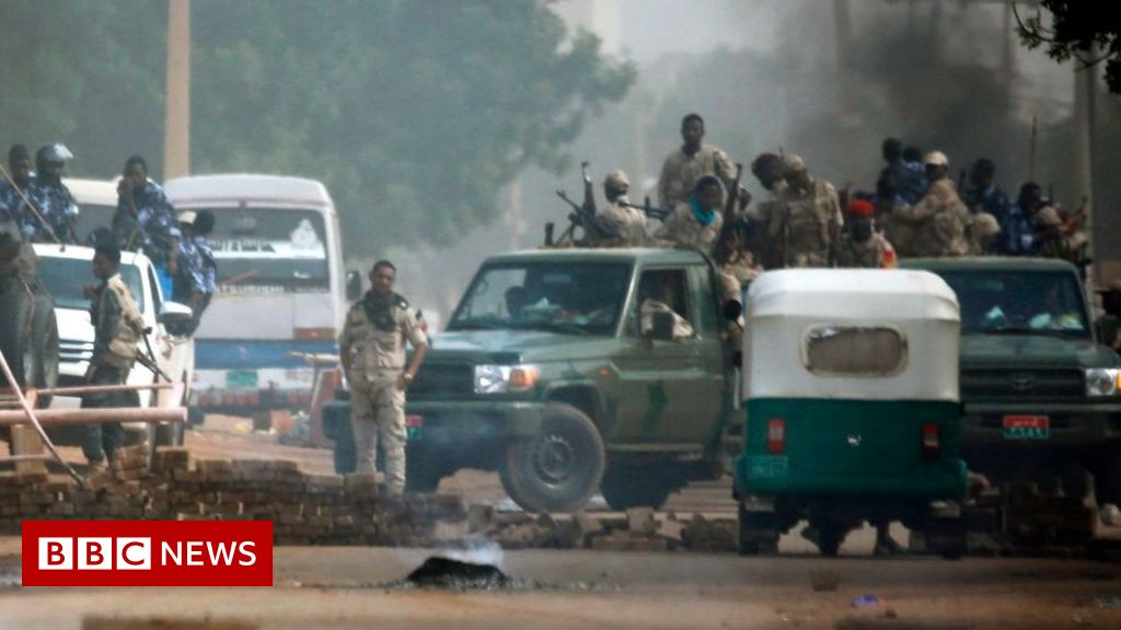 Sudan 'shock troops push into capital' thumbnail