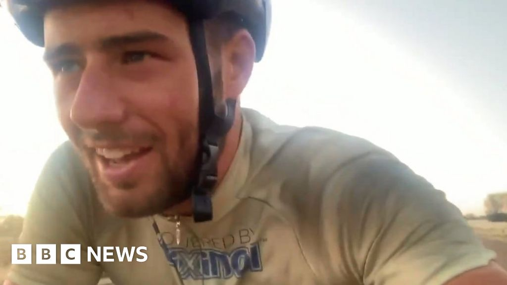 Edinburgh cyclist does U-turn after refusing to give up on round-the-world trip