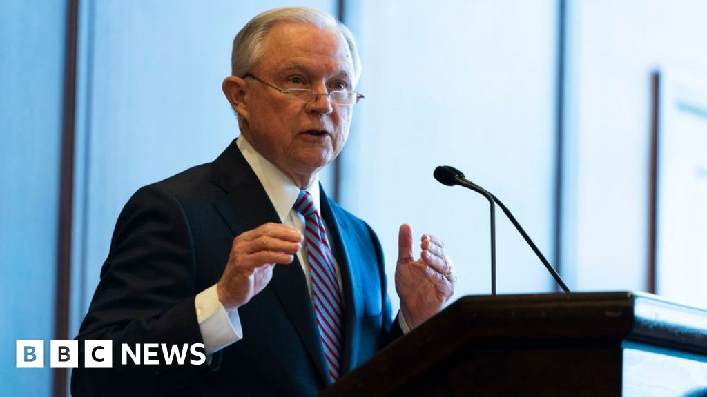 Jeff Sessions: Ex-attorney general to make Alabama Senate bid