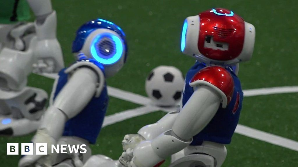 Are robots getting better at football? thumbnail
