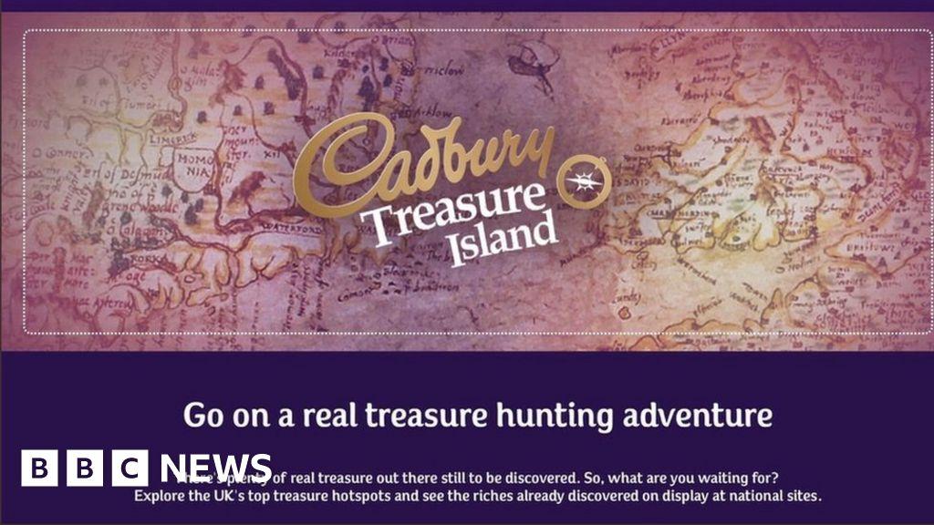 646216b0cb3b Cadbury treasure hunt ad labelled  stupid  by archaeologists - BBC News