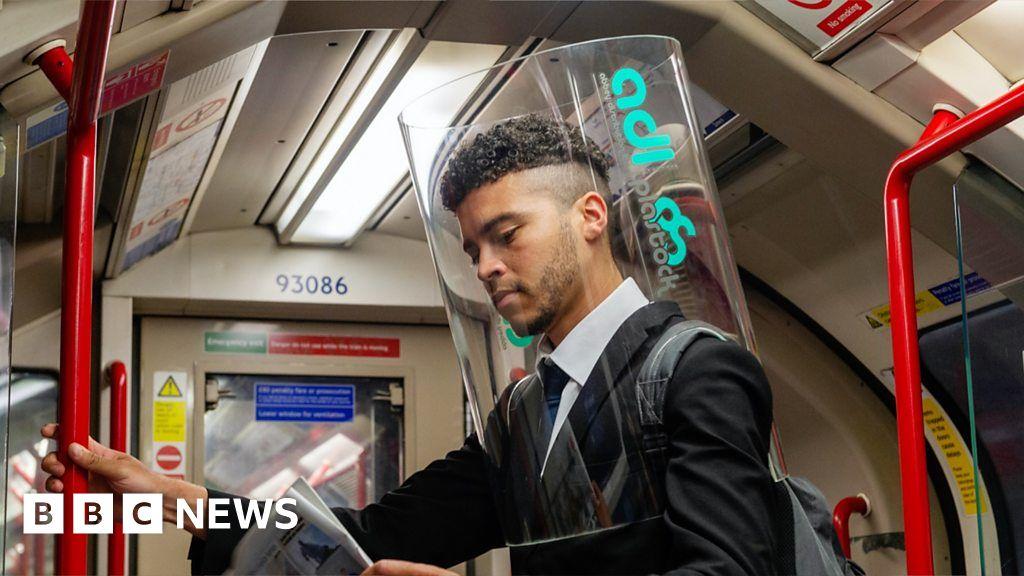 Coronavirus: the Designer developed a mobile plastic shield