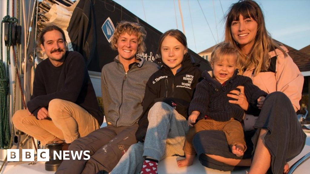 Greta Thunberg to sail to Spain climate summit with YouTubers thumbnail