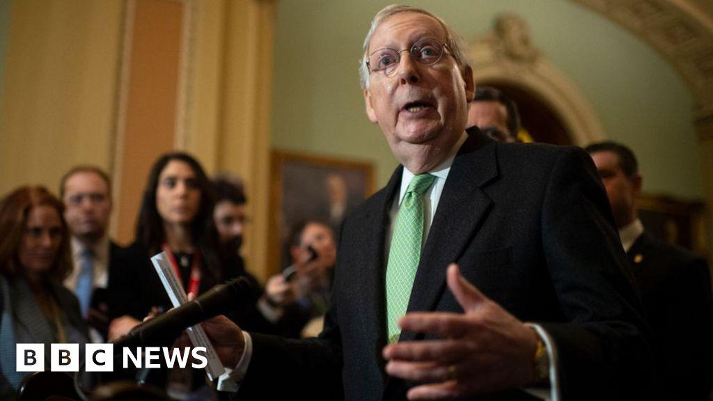 Trump impeachment: Senate leaders spar over trial