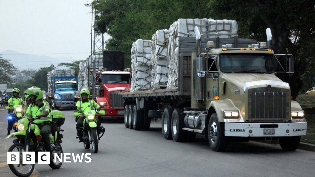 Venezuela crisis: Brazil vows to deliver aid, defying Maduro - BBC News