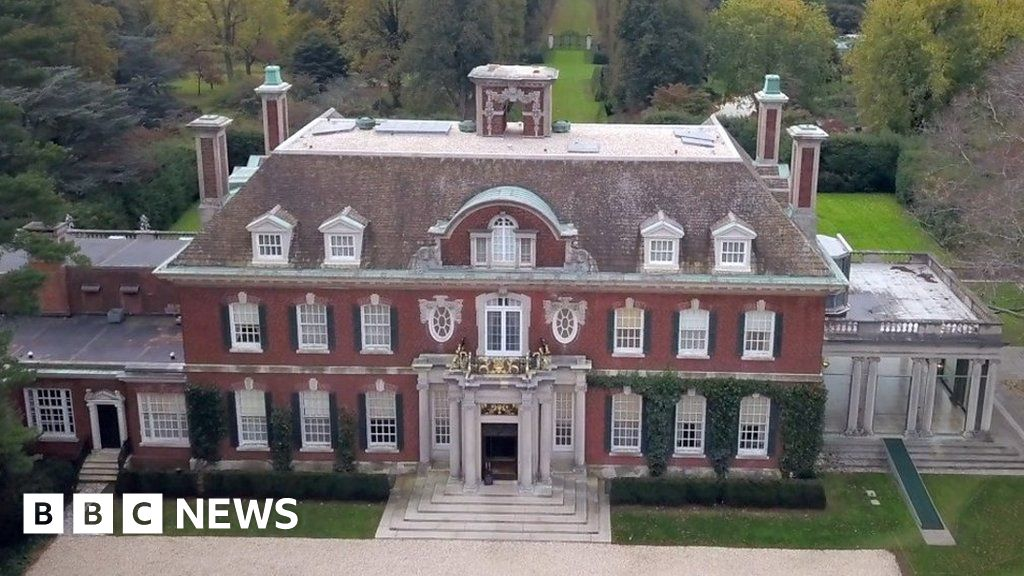 The small English mine helping a famous US mansion