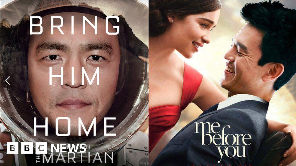 Starringjohncho Highlights Hollywood S Whitewashing Bbc News