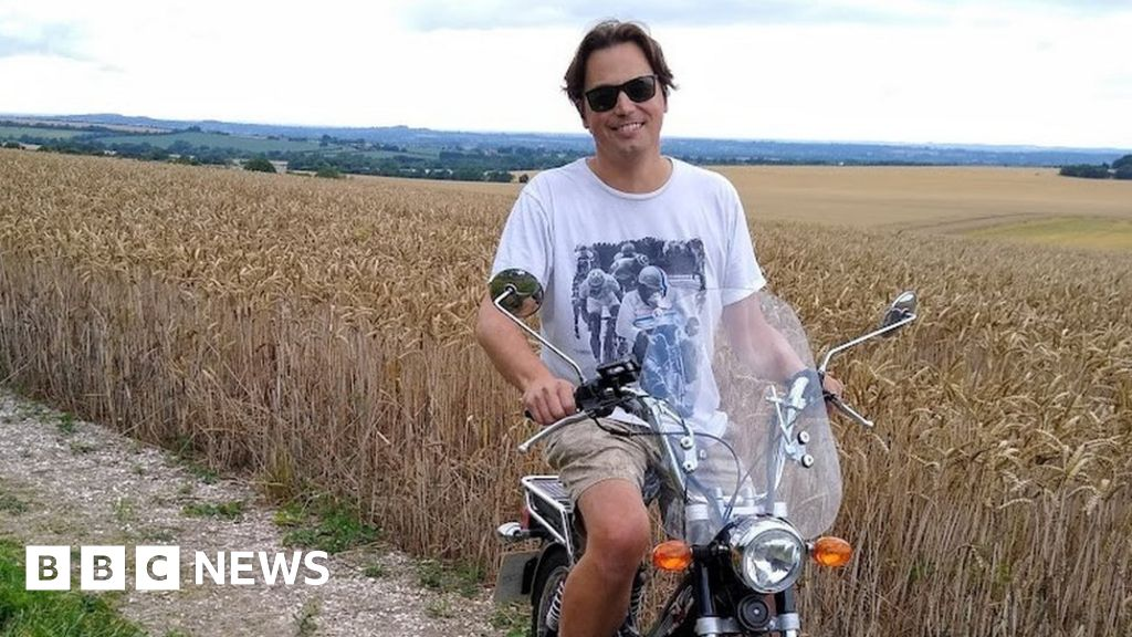 """His journey will begin in Shitterton, Dorset, on Wednesday and will take in locations such as Twatt in Orkney and Booze in the Yorkshire Dales. """""""