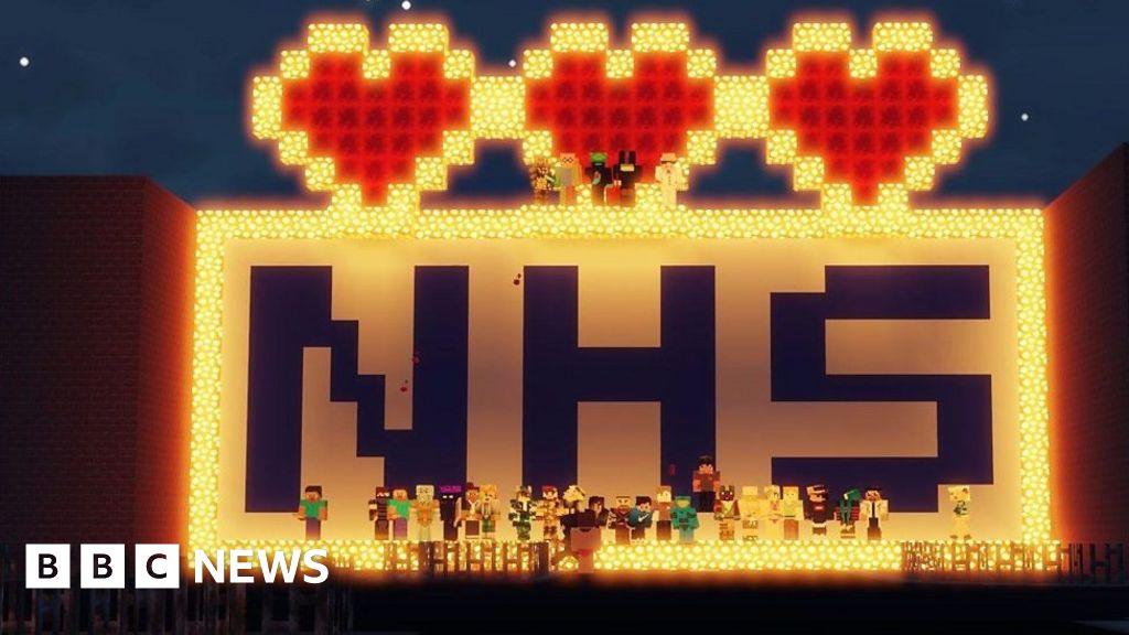 Coronavirus: Minecraft virtual night club raises money for the NHS