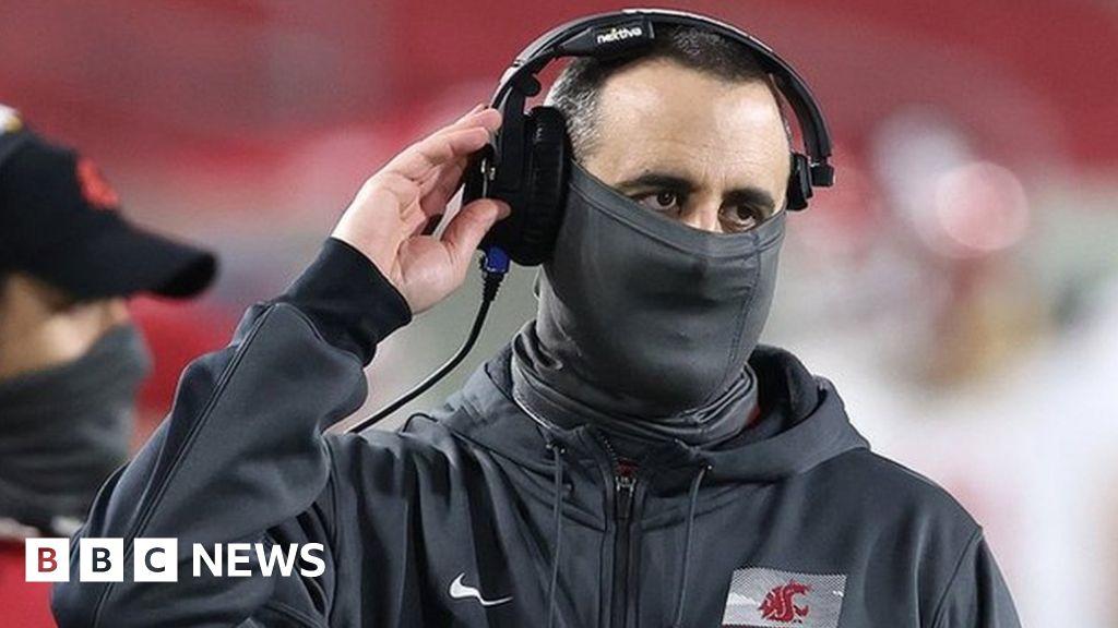 Nick Rolovich: Washington State football coach fired for refusing Covid vaccine – BBC News