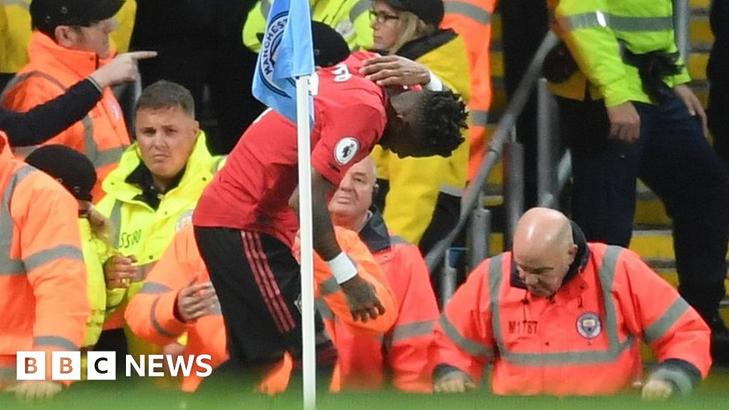 Manchester derby racist abuse claim: Man arrested