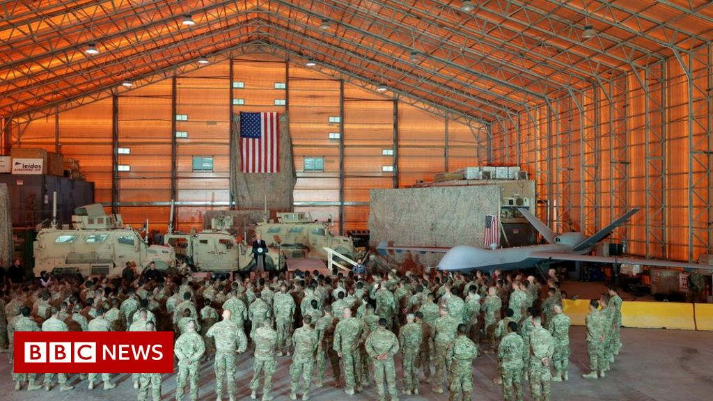 US airbase in Iraq hit by rockets - reports