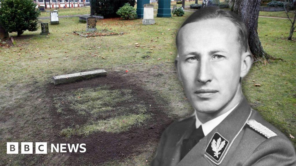 Grave of top Nazi Reinhard Heydrich opened in Berlin