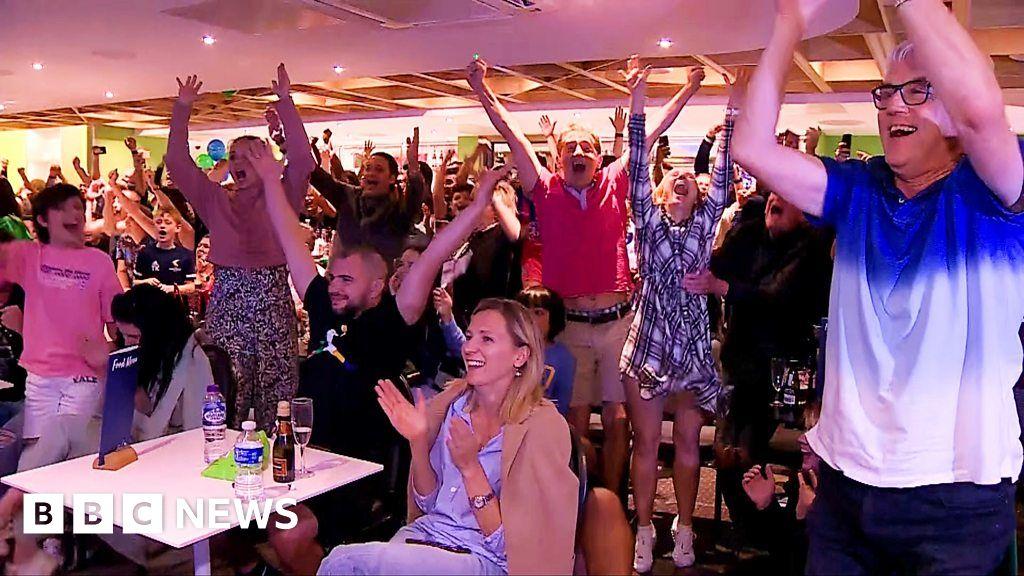 Emma Raducanu's hometown celebrates US Open win - BBC News