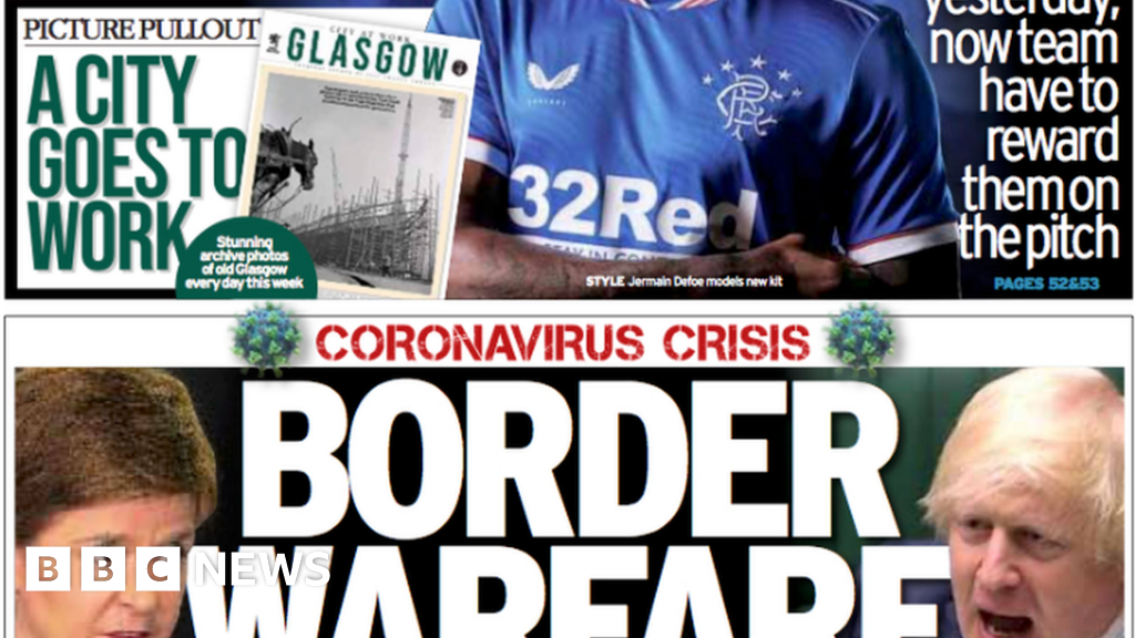 Scotland's papers: Border hassle brewing and Gaelic 'beneath menace' thumbnail