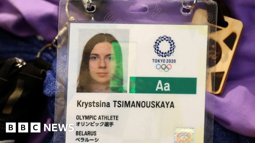 Belarus Olympian safe in Polish embassy, Japan says - bbc