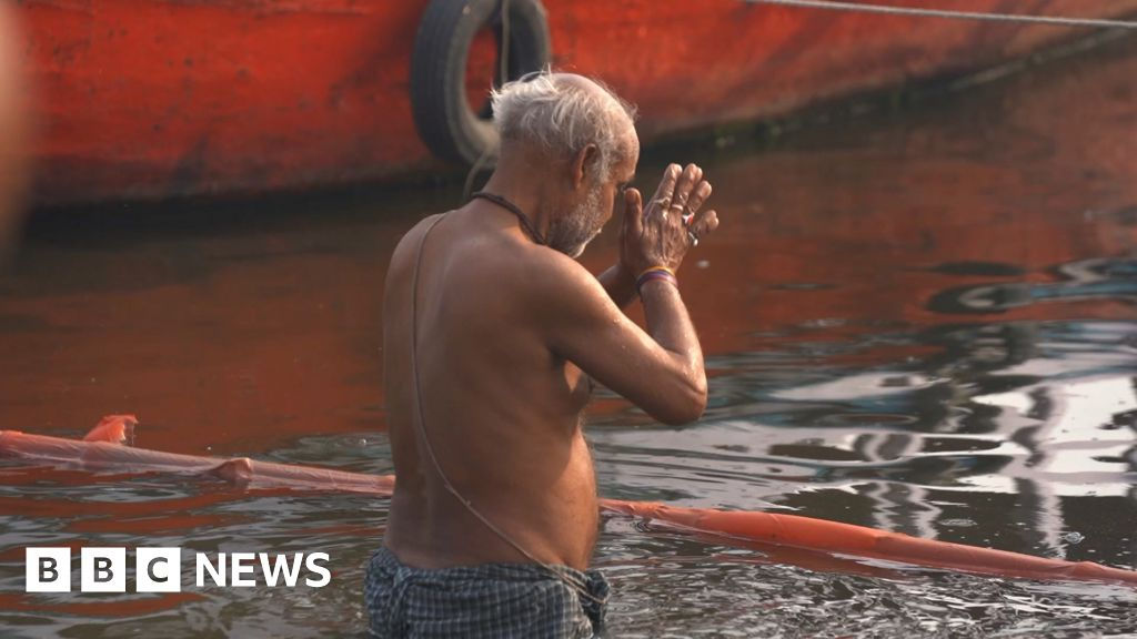 Covid causes new environmental dilemma for India's Ganges River